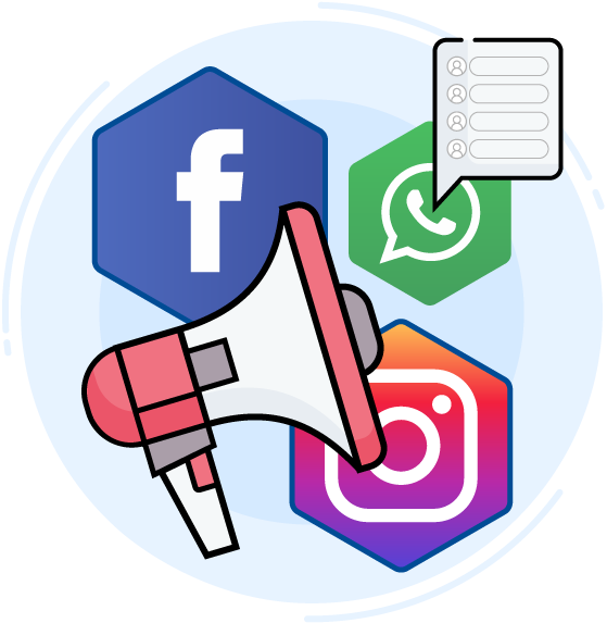 Campanhas no Facebook e Instagram